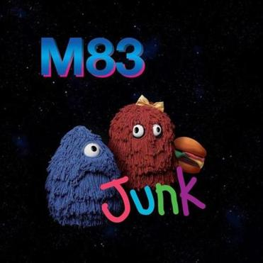 "Album cover of M83, ""Junk"" 08albumreview4"