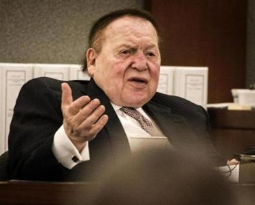 Casino mogul and Republican megadonor Sheldon Adelson said he would support Donald Trump.