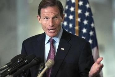US Senator Richard Blumenthal.