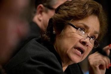 ICE Director Sarah Saldaña.