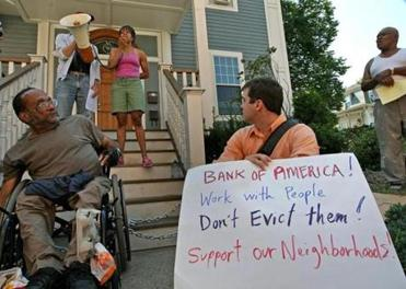 James Brooks was at a protest in Roxbury in July 2008 against an eviction.