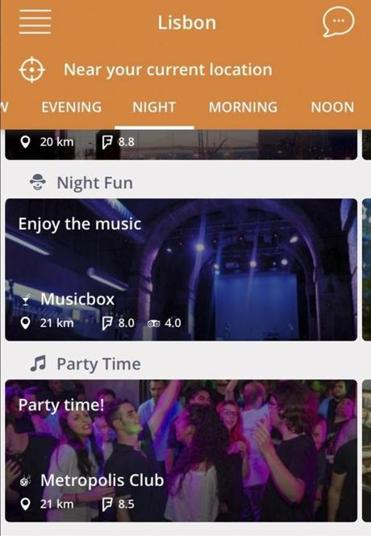 An undated screenshot of the Clarice app, which helps you discover places to visit during a vacation, but itÕs also designed to act like a virtual travel agent. With plenty of apps designed to help plan vacations, smartphones can now act as a sort of personal tour guide. (Handout via The New York Times) -- NO SALES; FOR EDITORIAL USE ONLY WITH STORY SLUGGED CIR SMARTPHONE APP BY EATON FOR JULY 14, 2016. ALL OTHER USE PROHIBITED.