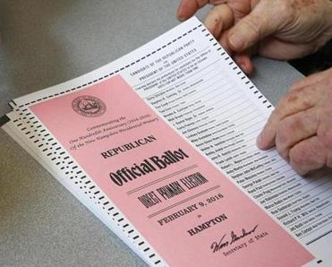 Go ahead and take a ballot selfie — it's now legal in N.H.