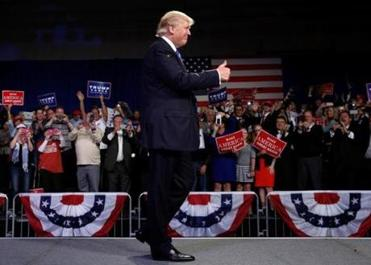 For Trump, more undisciplined campaigning