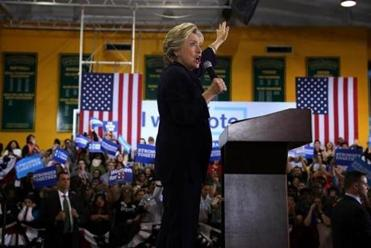 Hillary Clinton leads Democratic charge into red states