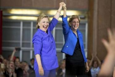 Hillary Clinton, Senator Elizabeth Warren head to N.H.