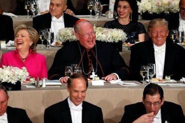 N.Y. cardinal highlights 'touching moments' between Donald Trump, Hillary Clinton