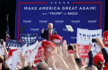 Trump to hold rally in New Hampshire in his 3rd trip this month