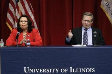 Sen. Mark Kirk questions opponent's American heritage in Illinois debate