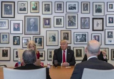 The New York Times is a favorite Trump target — and interview venue