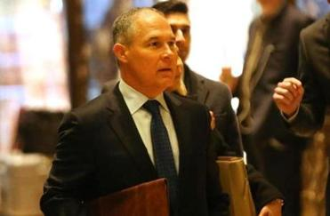 Fossil fuel ally tapped to lead the EPA
