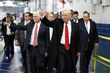 Trump criticizes union leader critical of Indiana deal