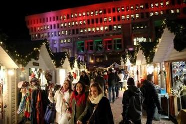 Boston Winter, a seasonal marketplace, lured hundreds of thousands of people with ice skating and shopping.