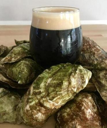 Intertidal Oyster Stout from Cape Cod's Devil's Purse Brewing Company.
