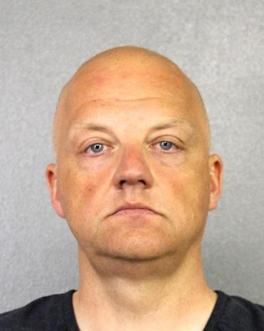 Volkswagen executive Oliver Schmidt is shown in an undated booking photo provided by the Broward County Sheriff's Office.