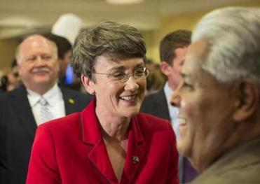 Trump to name former congresswoman Heather Wilson to lead Air Force