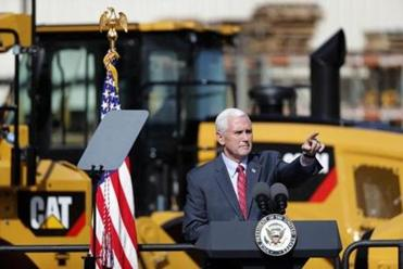 Pence condemns vandalism at Jewish cemetery