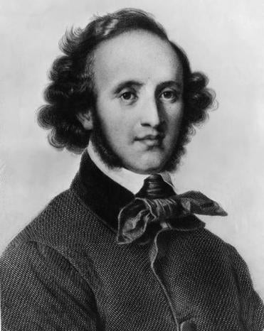 Felix Mendelssohn intended to dedicate his String Quartet (Op. 12) to one of his sisters' closest friends.