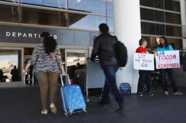 746 people subjected to travel ban on Jan. 28-29