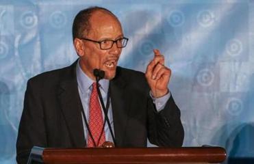 Tom Perez, former labor secretary, is new DNC head