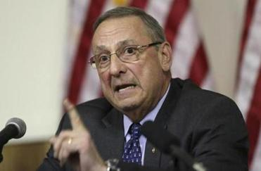LePage is using an unusual tactic to get servers to call their legislators—tipping them less
