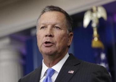 What is John Kasich going to do in 2020?