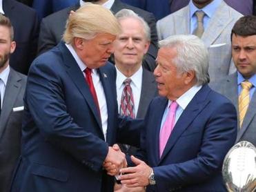Robert Kraft among those Trump trusts for counsel