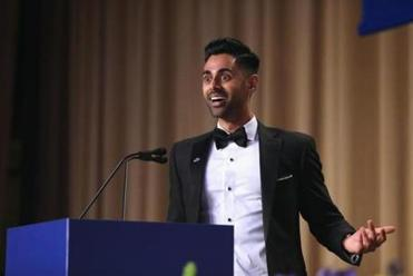 Hasan Minhaj: Trump skipped dinner 'because he can't take a joke'