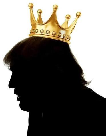 King Donald is making America Great Britain again