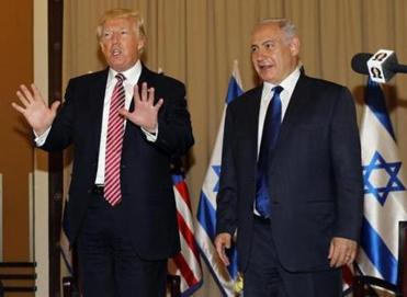 Trump says he never mentioned Israel in meeting with Russians
