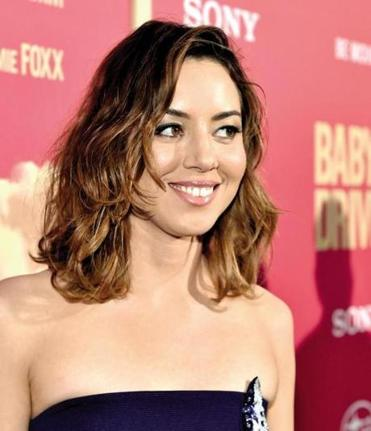 "Actress Aubrey Plaza attended the premiere of ""Baby Driver"" last week in Los Angeles."