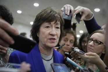Susan Collins is waiting for CBO score on Senate health bill