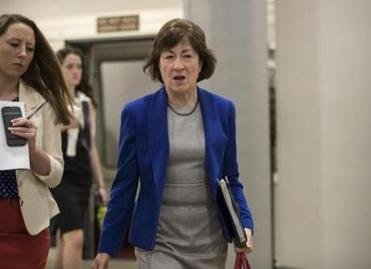 Democrats applaud Susan Collins' opposition to Obamacare repeal