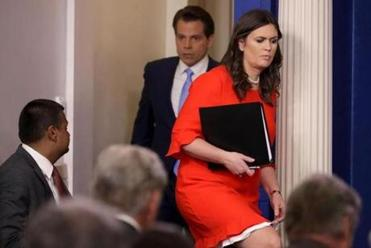 Sarah Huckabee Sanders named new White House press secretary