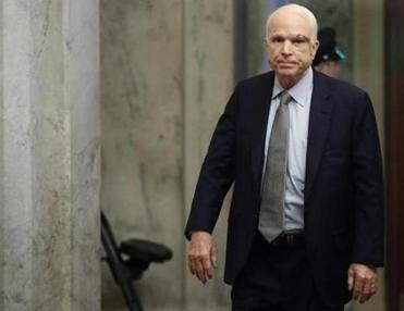 In eloquent speech, McCain urges Senate to return to bipartisanship