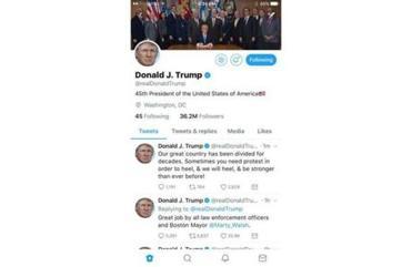 Oops: Trump mocked online for misspelling 'heal' in a tweet