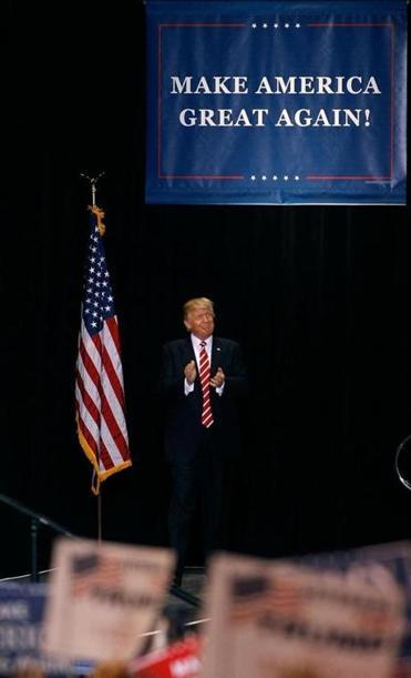 Trump rally in Phoenix puts a city on edge