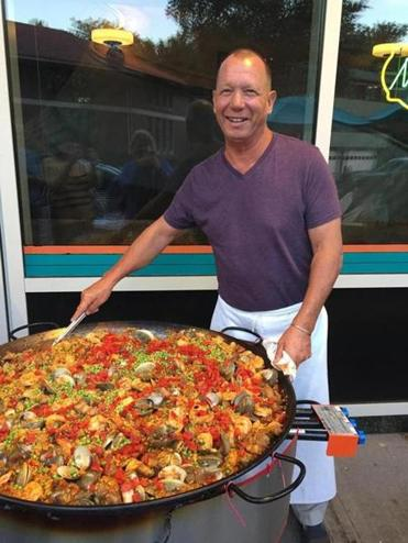 Chris Schlesinger will serve up the paella.