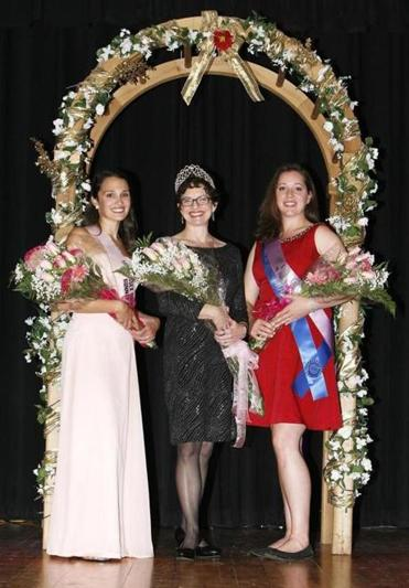 24noinformer - Last year's top three were Meaghan Shelton of Rockport, Meagan Sousa of Ipswich, and Melanie Simard of Ipswich. (Handout)
