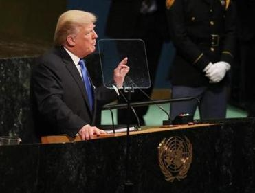 So about Trump's UN speech today...