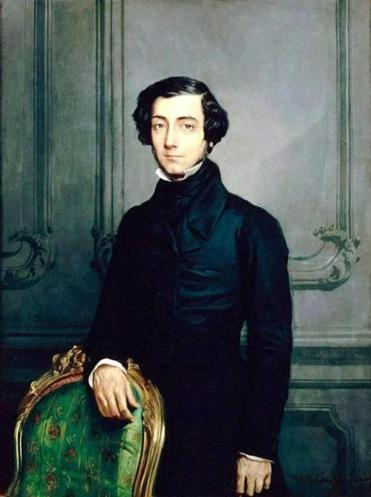 Alexis de Tocqueville chronicled American and French democracy