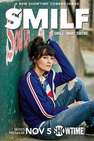 "A promotional image for Showtime's ""SMILF"" series."