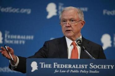 Jeff Sessions pokes fun at fervor over Russia dealings in lawyers convention speech