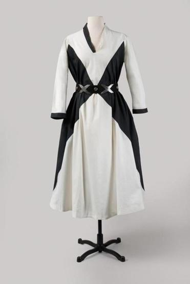 One of O'Keeffe's dresses, designed by Emilio Pucci.