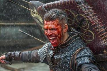 "Alex Hogh Andersen in ""Vikings."""
