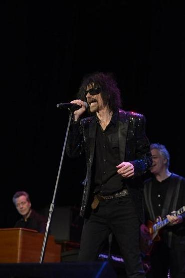 Peter Wolf at the Cabot Theatre in Beverly.