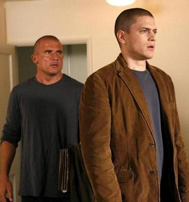 "Expect Dominic Purcell (left) and Wentworth Miller to return in a new ""Prison Break."""