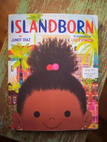 "Junot Diaz's new book, ""Islandborn,"" to be released in March. Gretchen Ertl for The Boston Globe."