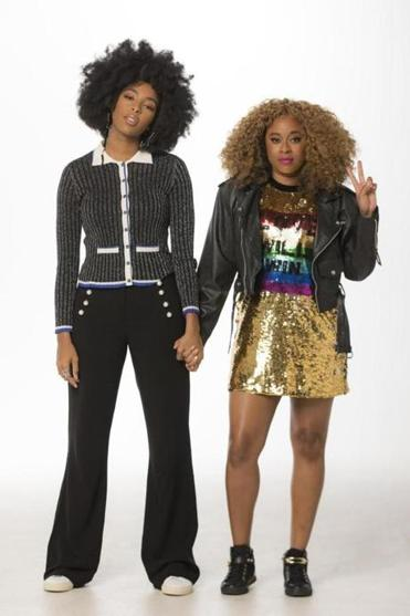 Jessica Williams (left) and Phoebe Robinson