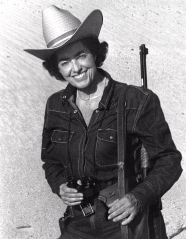 Ms. Link channeled her enthusiasm into leading gun safety workshops and arduous survival expeditions.